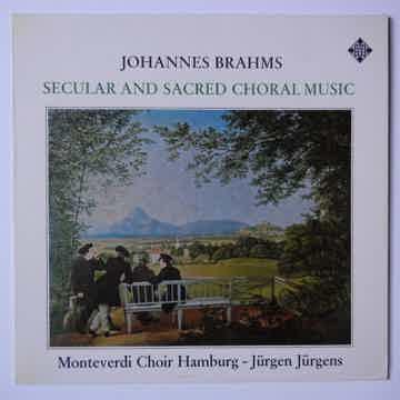 Brahms Secular & Sacred Choral Music