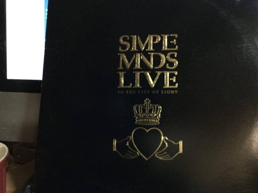 SIMPLE MINDS LIVE - IN THE CITY OF LIGHT 2 RECORD LIVE