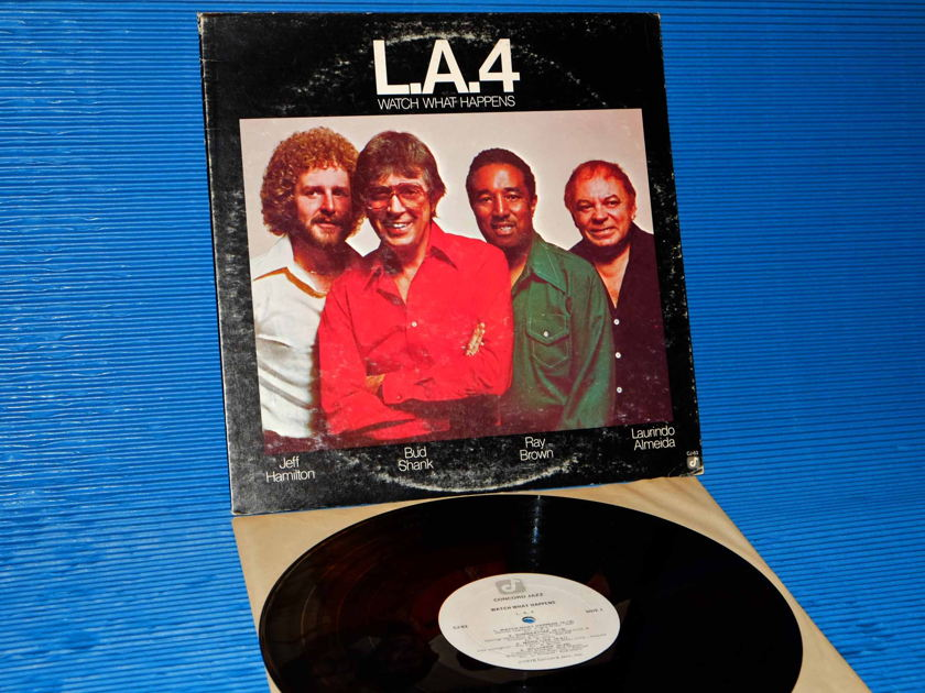 "THE L.A. 4  - ""Watch What Happens"" - Concord Jazz 1978"