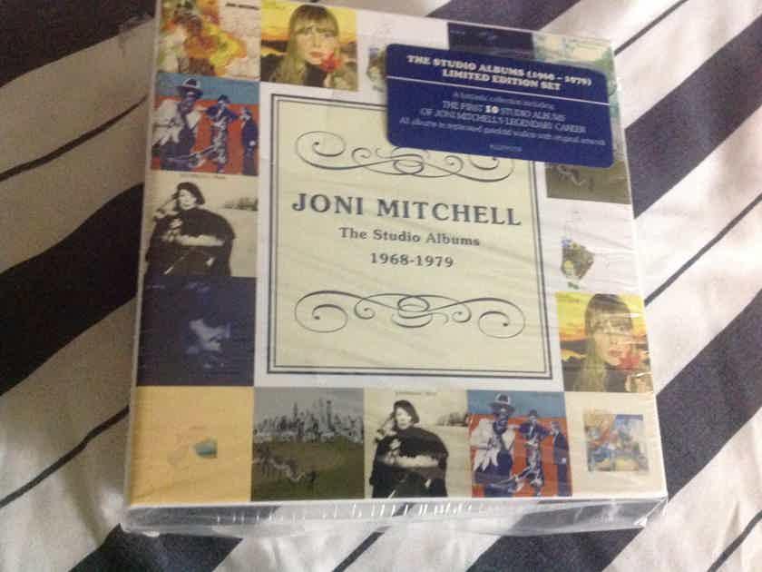 Joni Mitchell - The Studio Albums 1968-1979 Reprise Asylum Records 10 CD Box Set Limited Edition