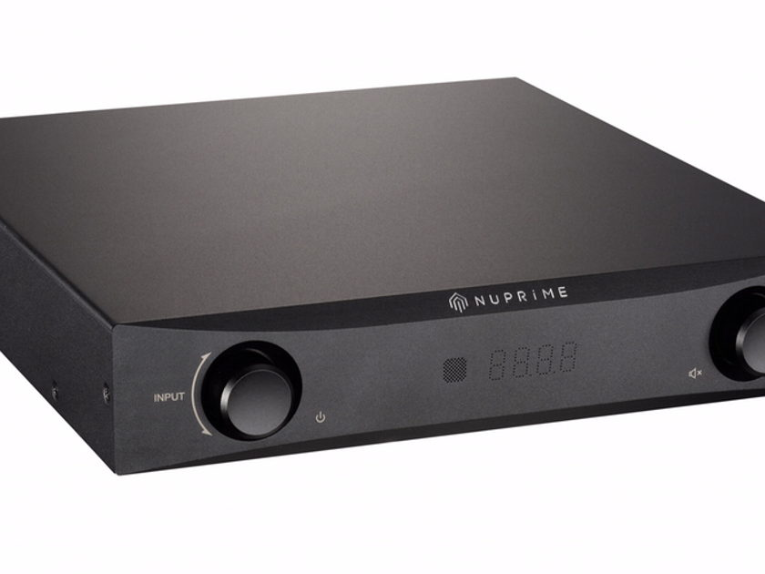 NuPrime  IDA-8 Integrated Amplifier / DAC, Black Finish