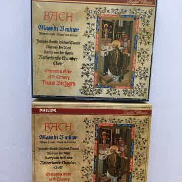 Bach Frans Bruggen  Mass in B minor Cd set Philips digital 1990