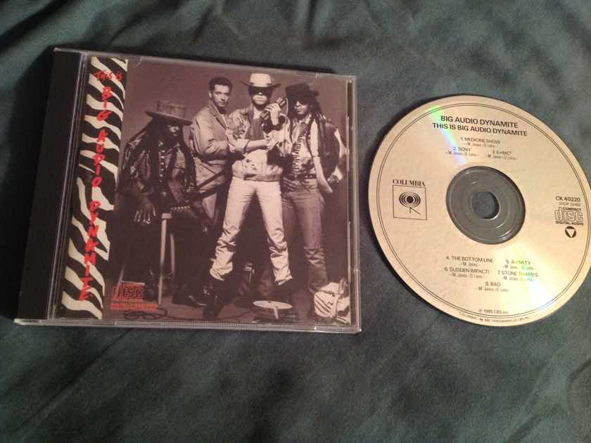 Big Audio Dynamite  This Is Big Audio Dynamite Not Remastered