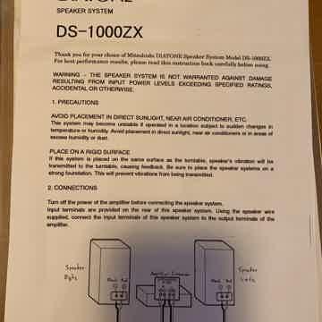 Diatone DS-1000ZX
