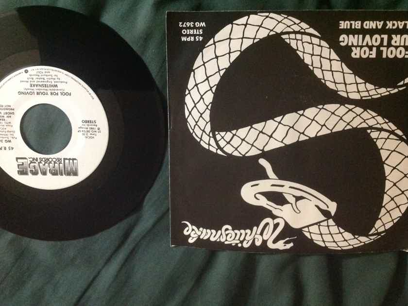 Whitesnake - Fool For Your Love Promo 45 With Sleeve With Sleeve