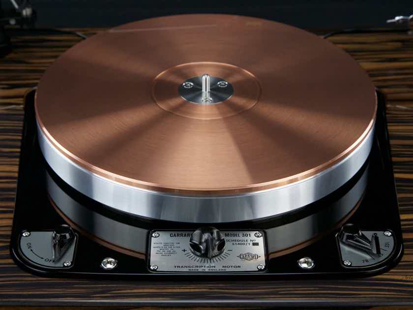Garrard 301 Statement  by Artisan Fidelity  TONEAudio 2018 Analog Product of the Year