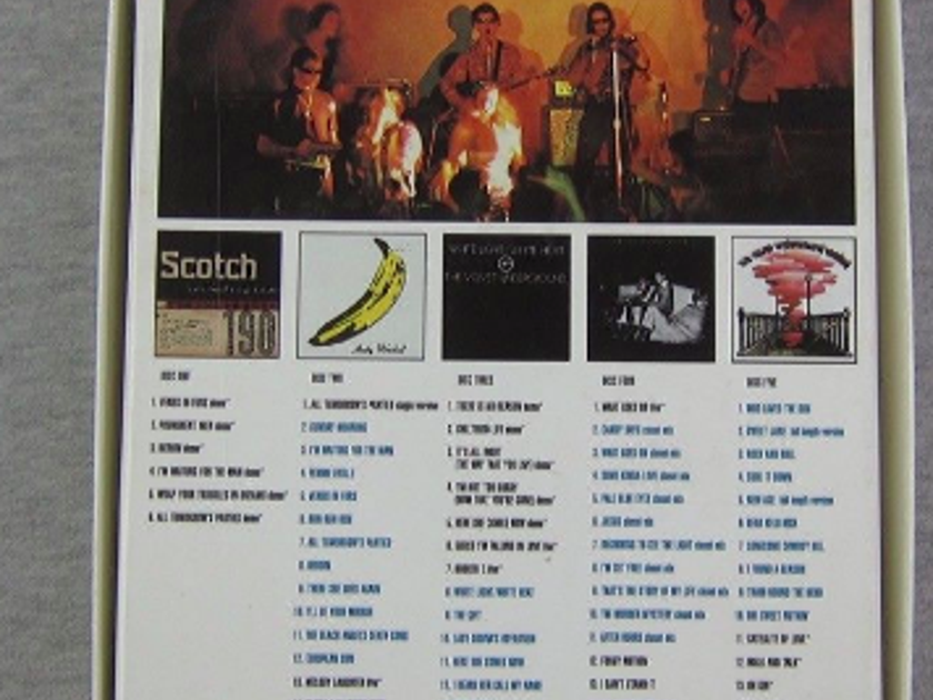 The Velvet Underground - Peel Slowly and See - 5CD Box Set Complete Near Mint - CDs, Booklet and Box
