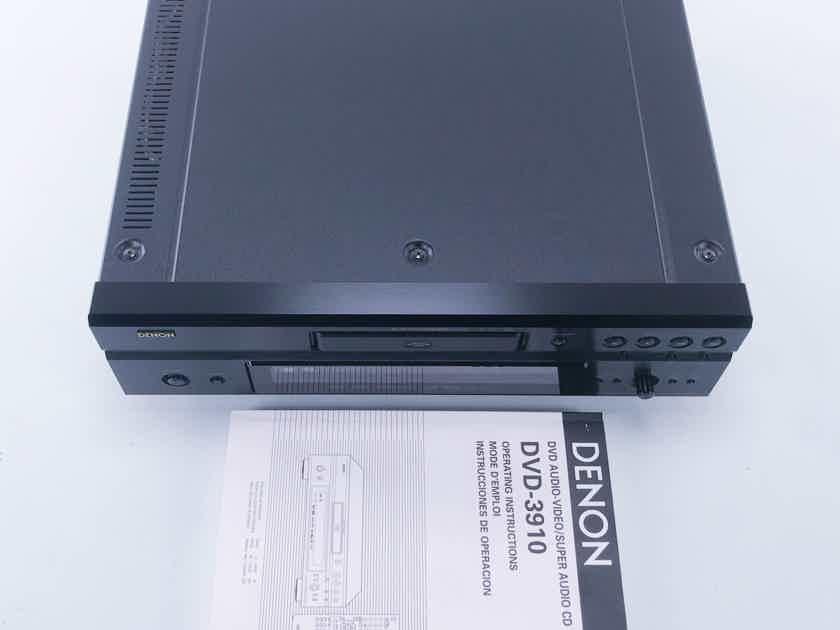 Denon DVD-3910 DVD / CD / SACD Player (No Remote) (11893)