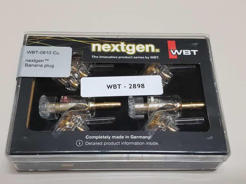 WBT 0610 CU Speaker Banana connectors