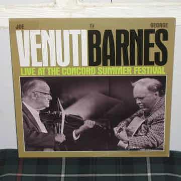 Venuti/Barnes - Live At The Concord Summer Festival