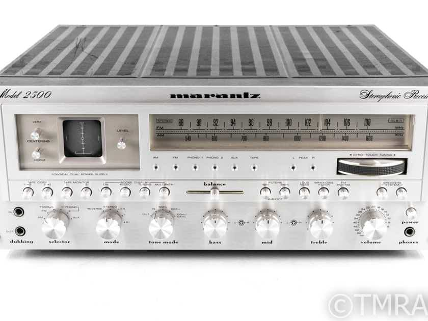 Marantz Model 2500 Vintage Stereo Receiver; MM Phono; Restored (21358)