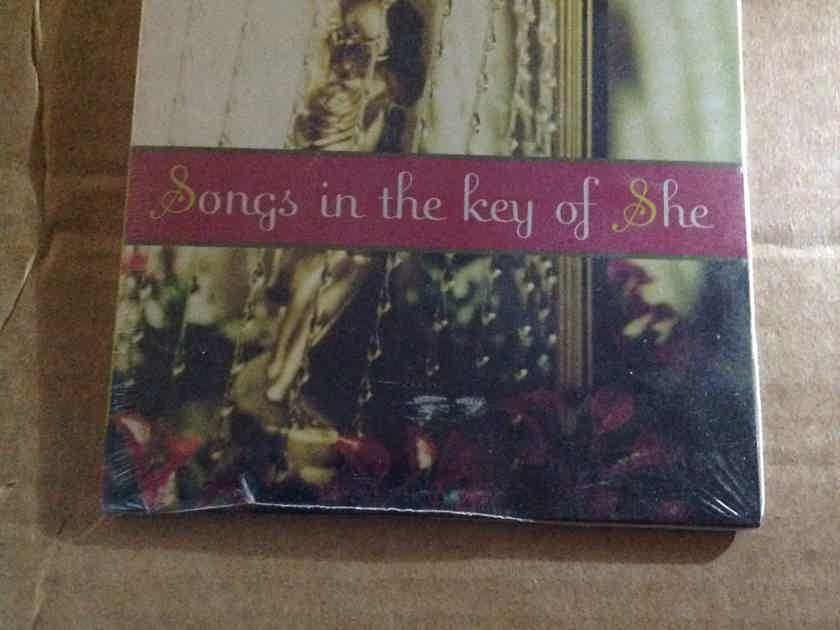 Various - Songs In The Key Of She Warner Brothers Reprise Records Sealed Compact Disc