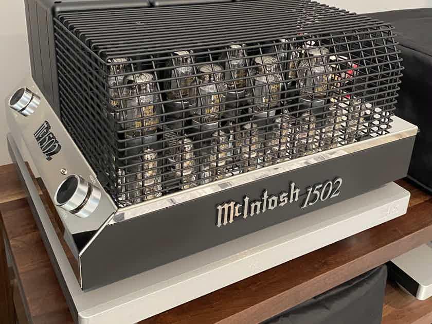 McIntosh MC1502 Stereo Tube Amplifier, BEAUTIFUL, As New