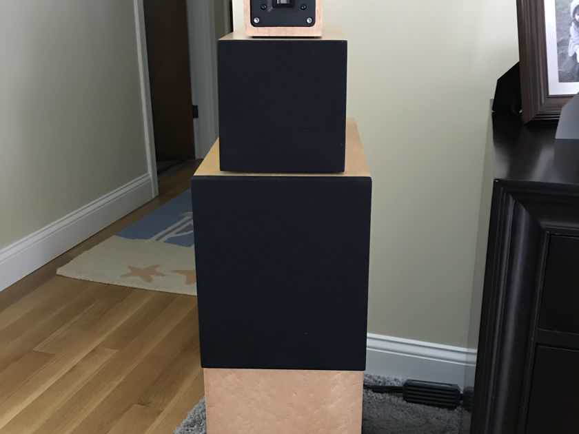 "Sonics Electronix by Joachim Gerhard ""Alegria"" Reference Speakers #12 in production MINT Condition"