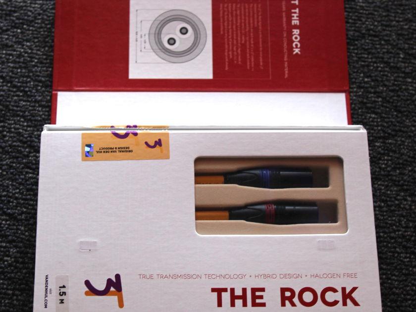 Van Den Hul The Rock 3T 3m XLR Interconnects