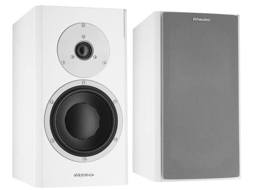 Dynaudio Focus 200XD Wireless Speakers; Satin White w/ Connect (NEW) (10490)