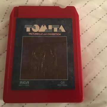 Tomita  Pictures At An Exhibition Quadraphonic 8 Track