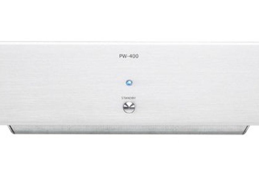 Micromega PW-400 Power Amplifier (Silver or Black): Manufacturer Refurbished; Full Warranty; 67% Off