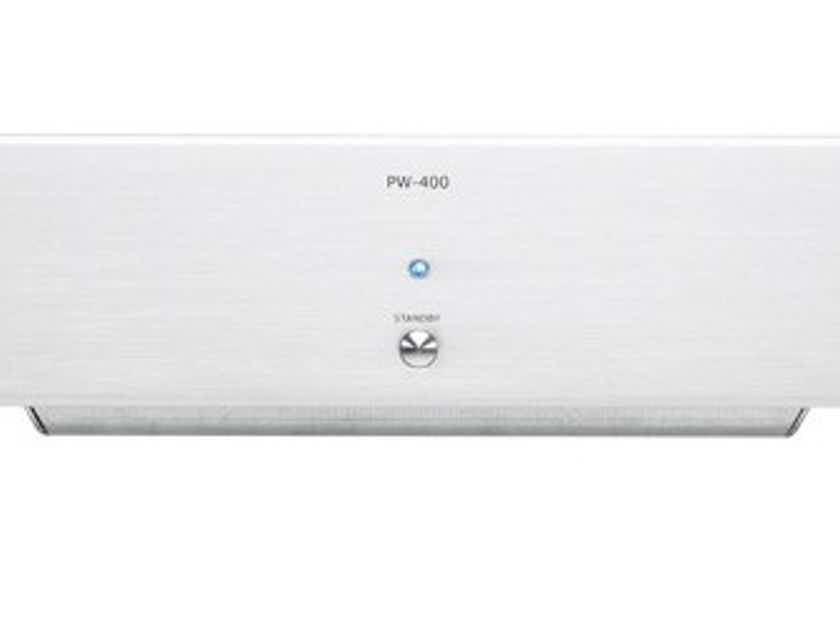 MicroMega PW-400 Power Amplifier (Silver): Manufacturer Refurbished; Full Warranty; 75% Off + Free Ship