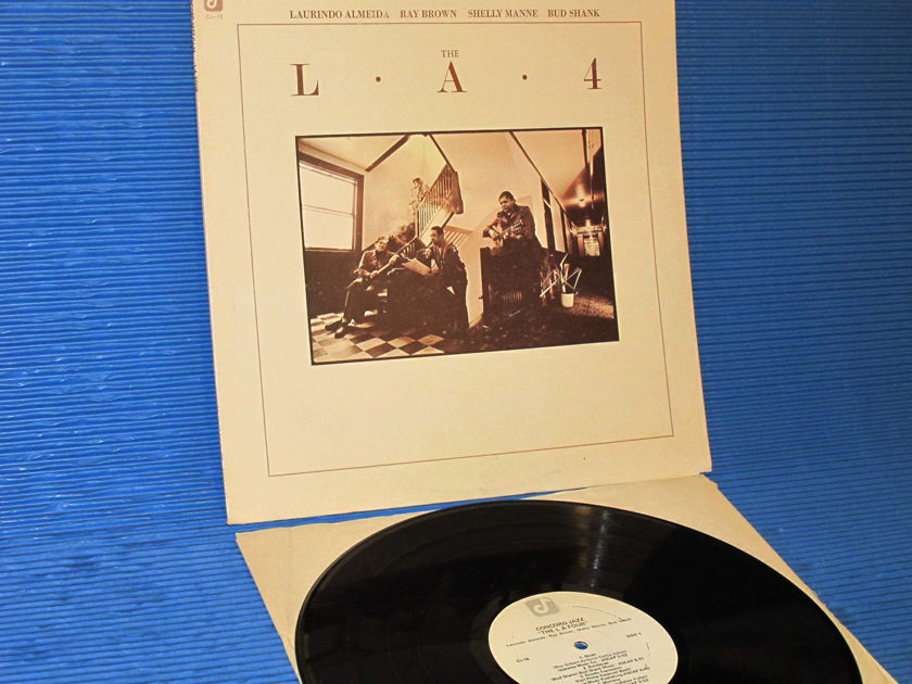 """THE L.A. 4   - """"The L A Four"""" -  Concord Jazz 1976 Heavy Vinyl 1st pressing"""