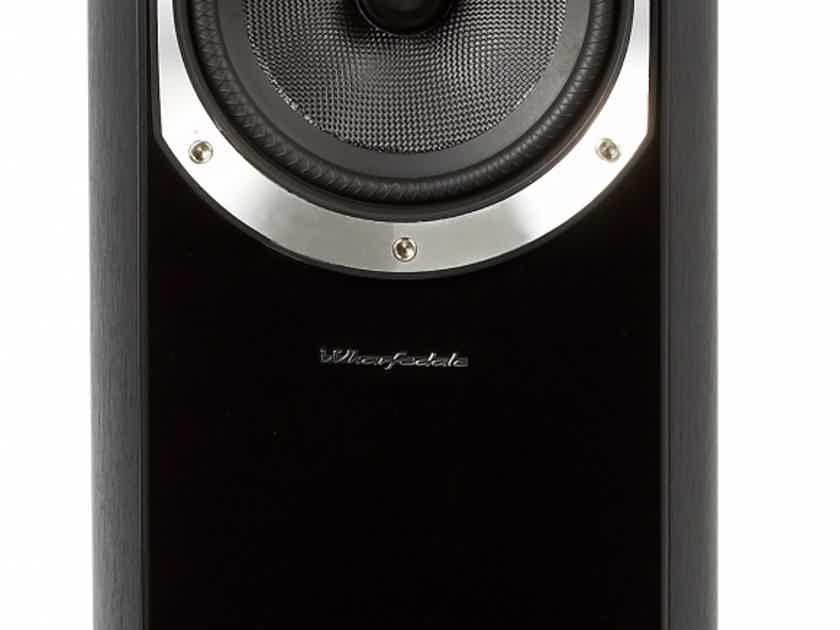 Wharfedale Diamond 10.5 floorstanding speakers, walnut