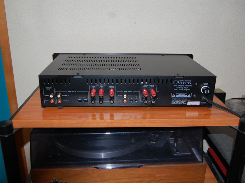 Carver AV-64 Three Channel Power Amplifier