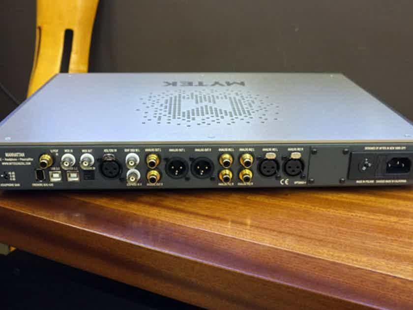 Mytek Manhattan II DAC/Headphone Amp/Preamp ALL Mytek models on SALE!