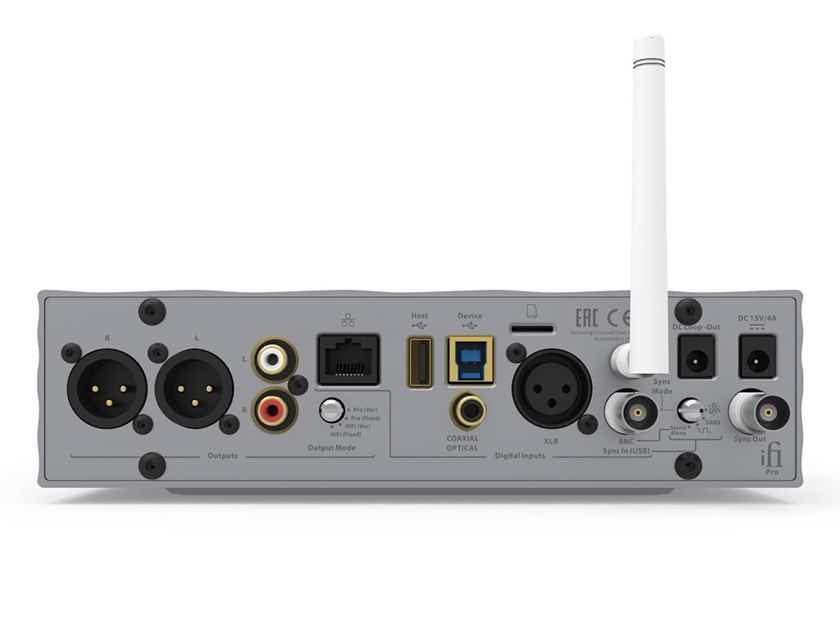 iFi AUDIO Pro iDSD Reference-Grade Digital to Analog Converter & Headphone Amp (2.5mm Headphone Jack)