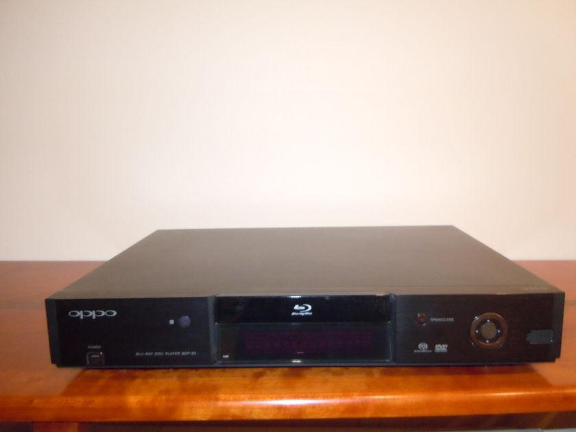 Oppo Digital BDP-83 Blu-Ray Disc Player