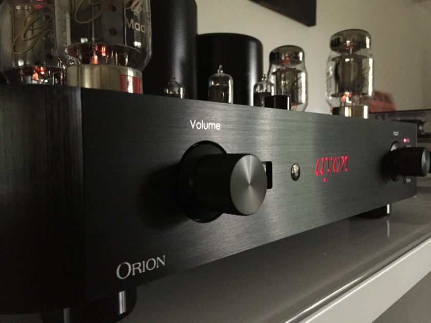 Ayon Audio Orion III Ayon Tube Integrated Amplifier - Class A - Mint