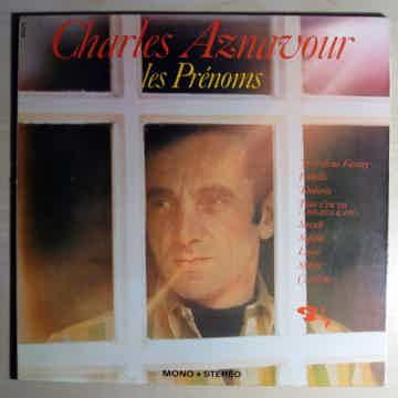 Charles Aznavour - Les Prénoms - France 1968 Barclay 80...