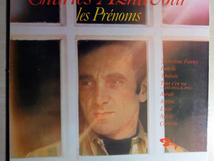 Charles Aznavour - Les Prénoms - France 1968 Barclay 80375