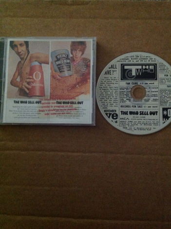 the who the who sell out mca records 23 tracks version compact