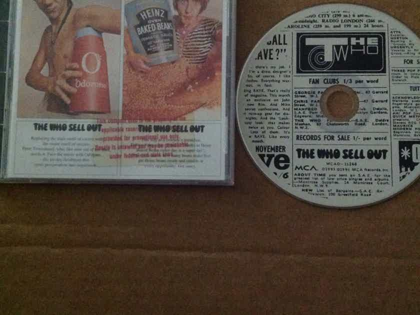 The Who - The Who Sell Out MCA Records 23 Tracks Version Compact Disc
