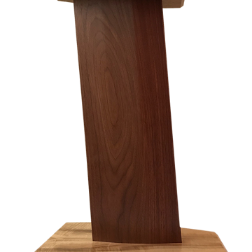 Listing includes Blade stands in all Claro walnut!