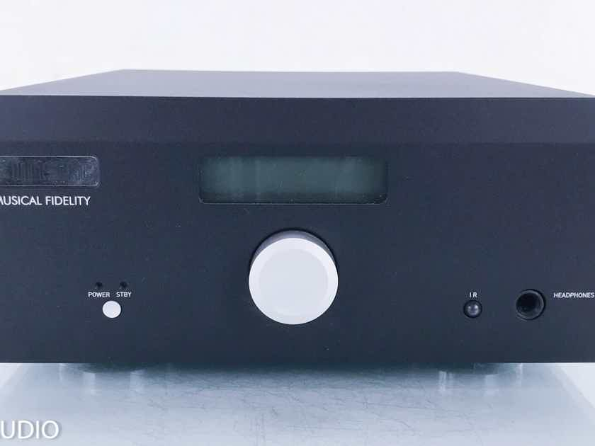 Musical Fidelity M1SDAC Stereo Preamplifier / DAC D/A; Bluetooth (Remote) (15261)