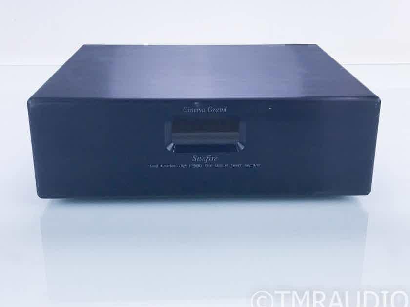 Sunfire Cinema Grand 5 Channel Power Amplifier  (16721)