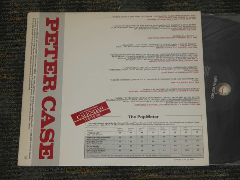 Peter Case - First LP PROMO Only QUIEX