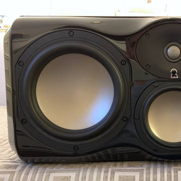 Revel Ultima2 Voice2 Center channel in Black Gloss finish