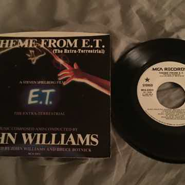 John Williams  Theme From E.T. Promo 45 With Picture Sl...
