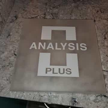 Analysis Plus  Silver Apex Phono Din to RCA