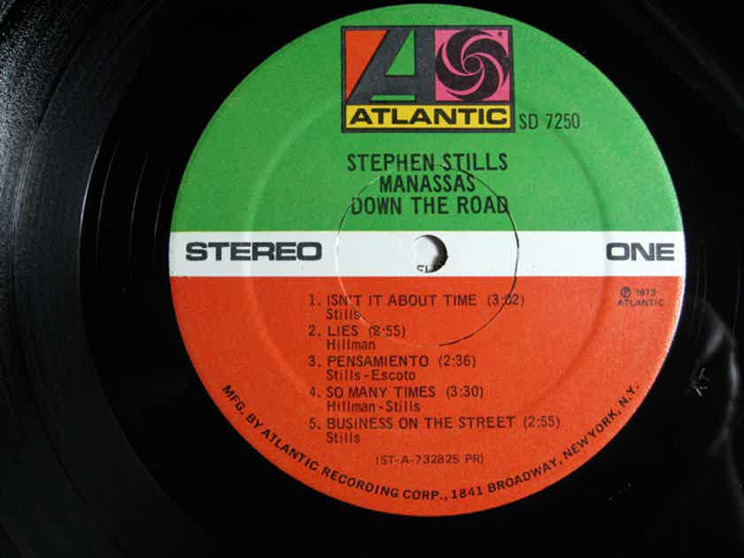 Stephen Stills & Manassas - Down The Road - Original 1973 Presswell Atlantic SD 7250