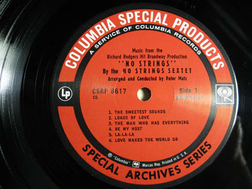 No Strings Sextet -  No Strings  Special Archives Series Columbia Special Products CSRP 8617