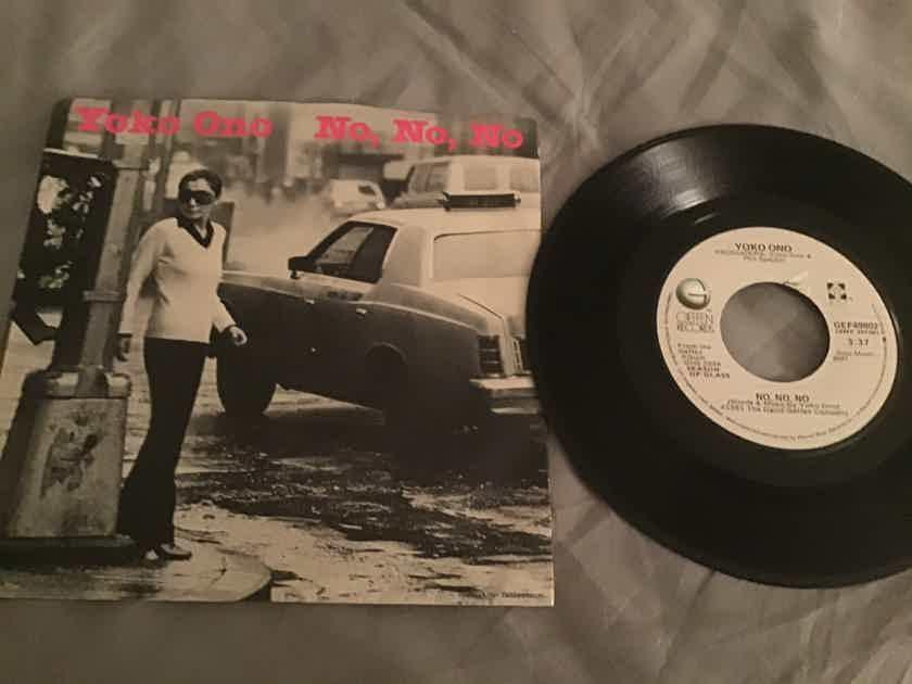 Yoko Ono No,No,No 45 With Picture Sleeve Vinyl NM