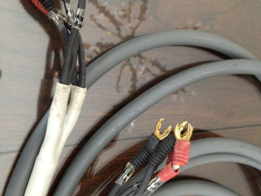 Monster M Series Biwire Bi wire 10 foot long pair of speaker cables Great cables for the price