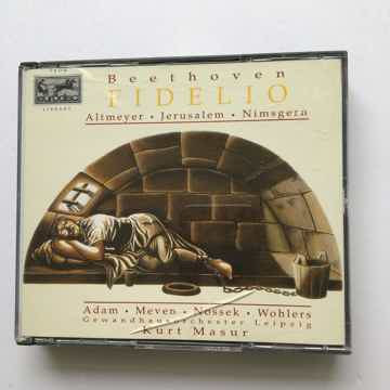 Fidelio Eurodisc Cd set 1994 case crack
