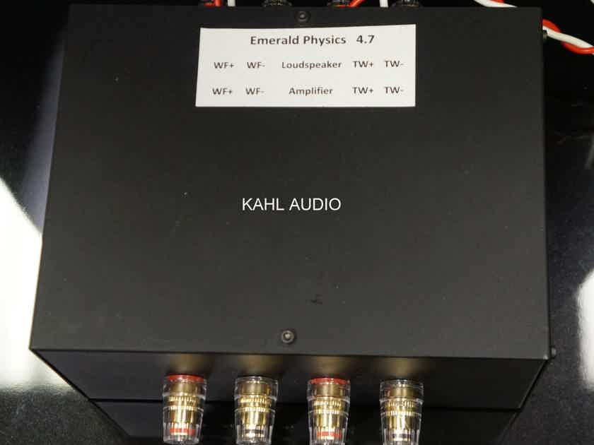 Emerald Physics EP4.7 speakers. Amazing reviews! $7,000 MSRP