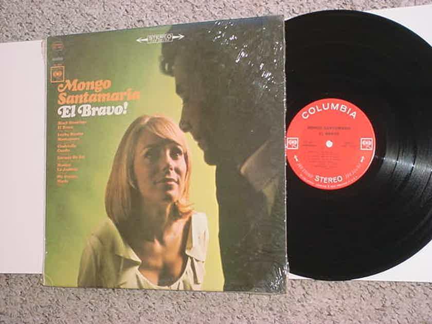 Mongo Santamaria El Bravo lp record - jazz bongo Columbia 360 sound cs9211 SEE ADD