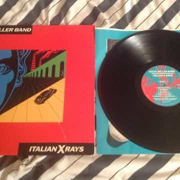 Steve Miller Band  Italian X Rays Deadwax Wally Etched ...