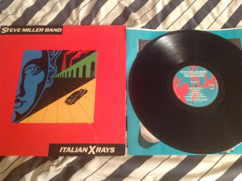 Steve Miller Band  Italian X Rays Deadwax Wally Etched Both Sides Capitol Records